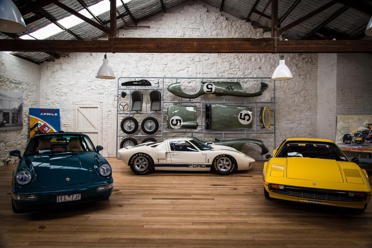 Walking into Dutton is like walking into a dream garage spanning almost a century