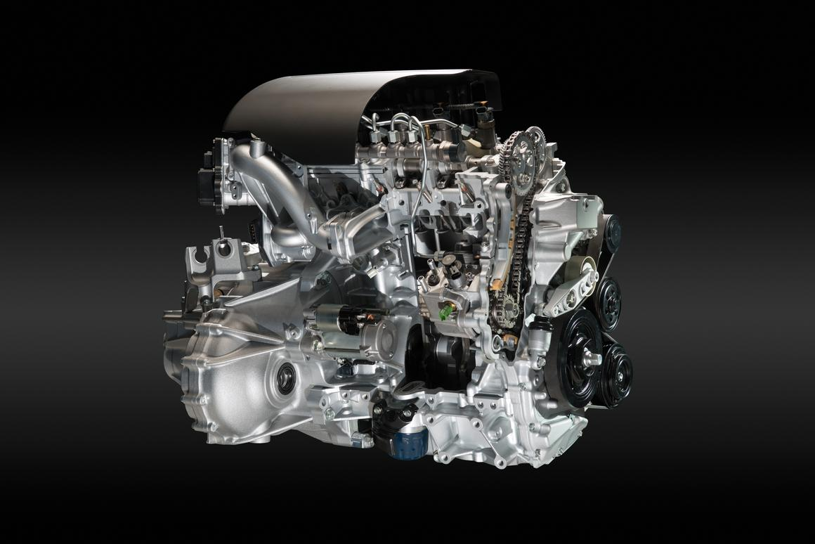 The 1.6-liter i-DTEC engine