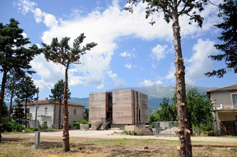 Energy Box is located in L'Aquila, Italy (Photo: Pierluigi Bonomo)
