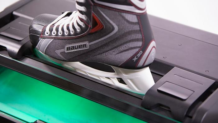 Sparx aims to make it easy for hockey players to do a professional sharpening job in their home