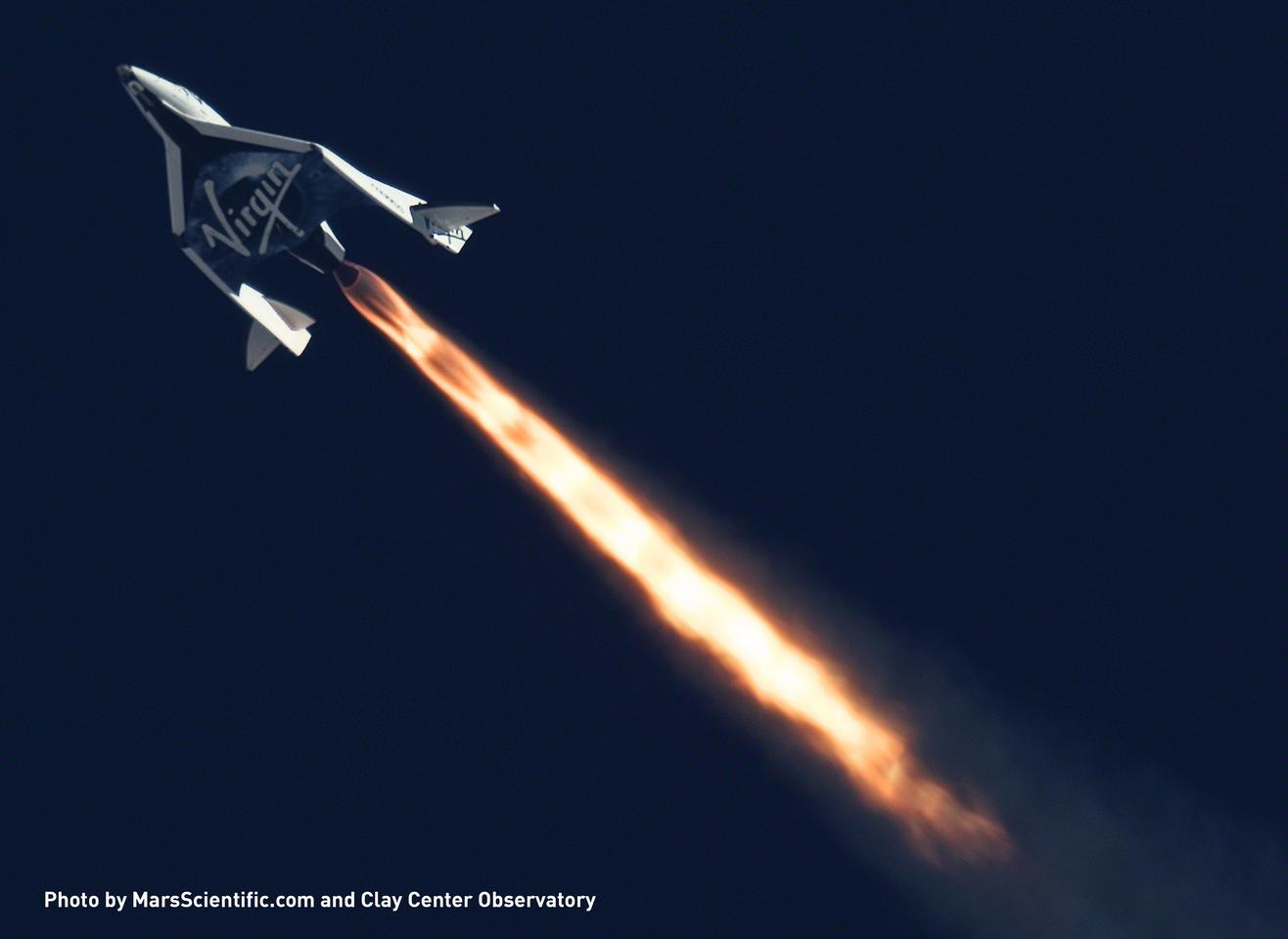 SpaceShipTwo broke the altitude and speed record that it set in April