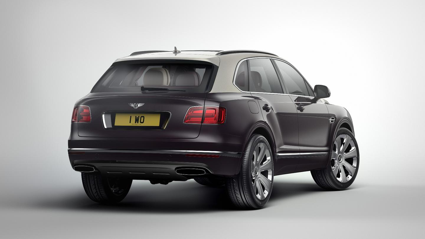 The Bentayga is an imposing beast in any spec, but that's magnified in Mulliner trim