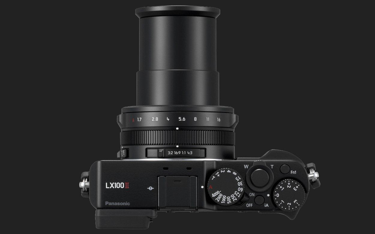 The Lumix LX100 II features a 24-75 mm equivalent F1.7-2.8 Leica DC Vario-Summilux lens