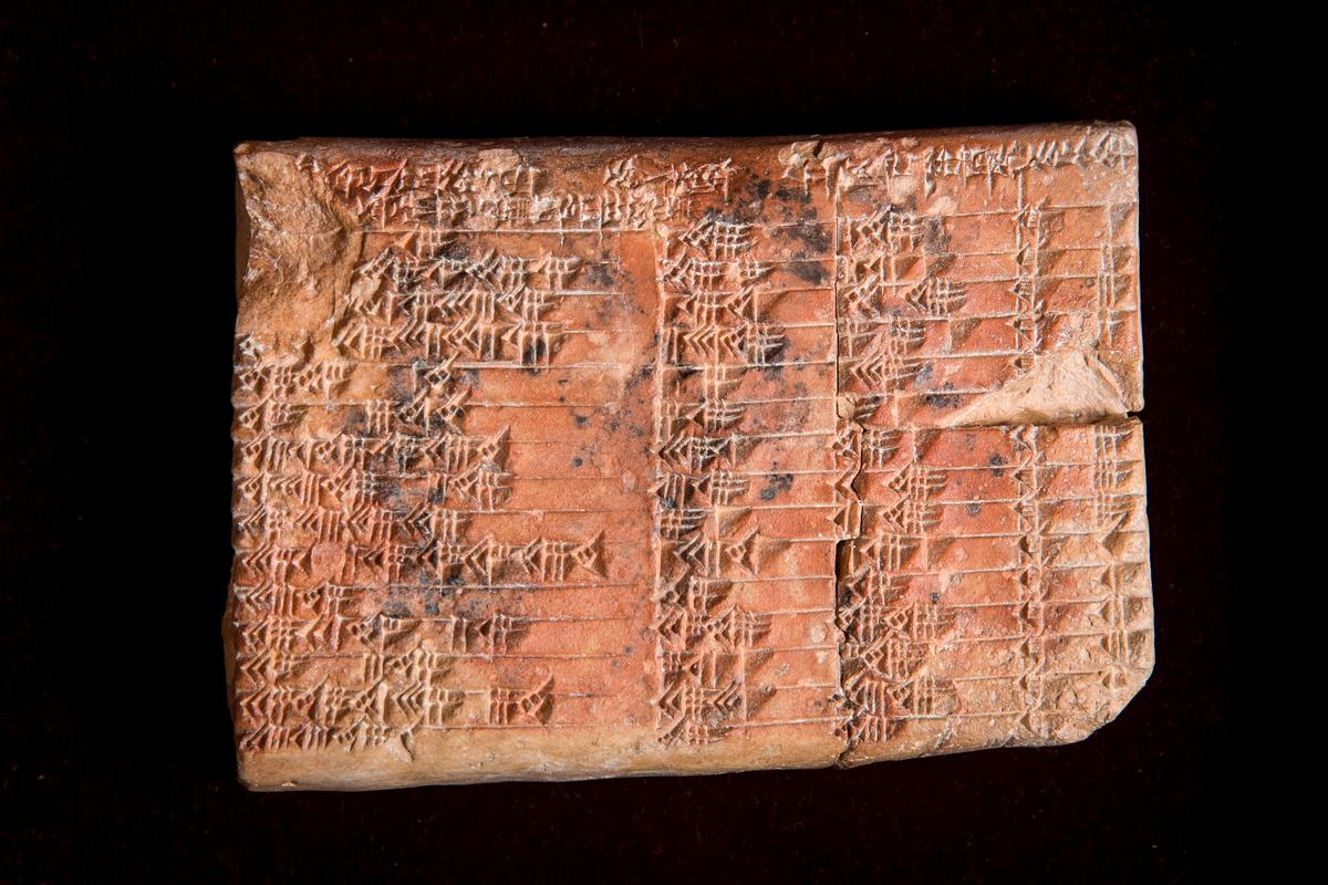Plimpton 322, a 3,700-year oldclay tablet, has been found to be the world's oldest and most accurate trigonometric table