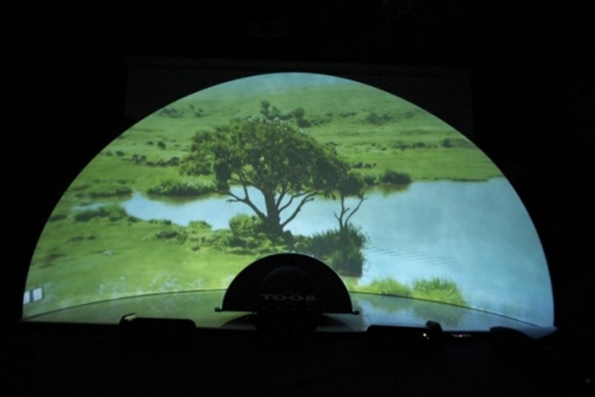 The TOOB dome screen is great for movie-lovers or gaming enthusiasts and delivers a mini IMAX experience