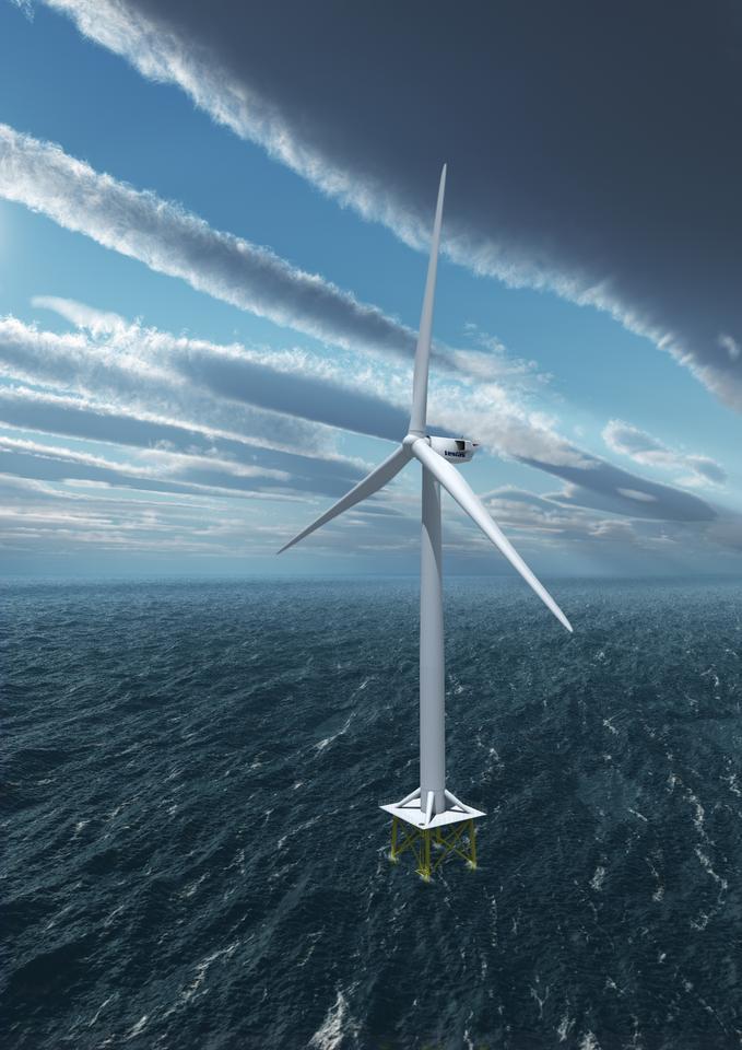 Vestas has upped the capacity of ts V164 wind turbine to 8 MW