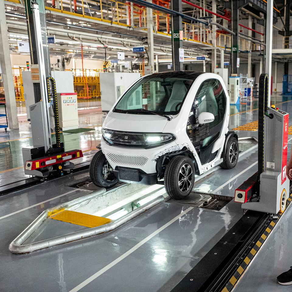 Eli's manufacturing partners in Europe have started the first production run of the Zero NEV