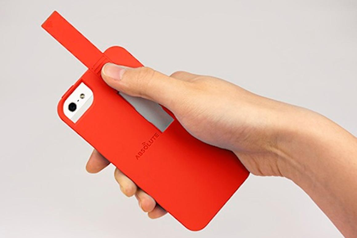 The Linkase is designed to extend an iPhone 5's Wi-Fi range