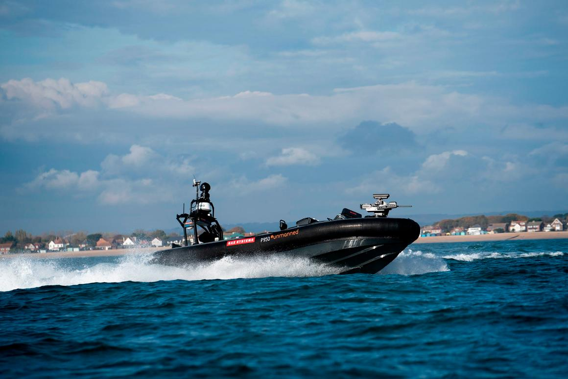 BAE Systems has completed another series of tests on its Pacific 950 autonomous patrol boat