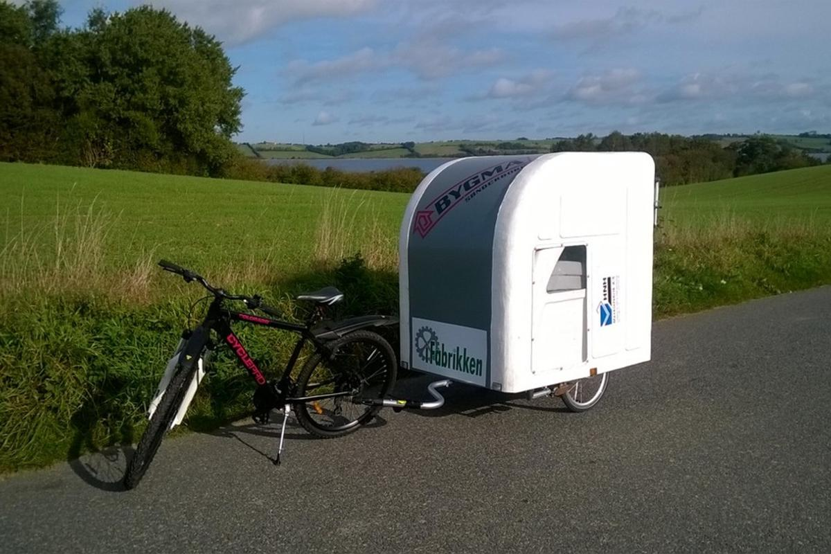 The Wide Path Camper should be available for purchase in early 2015 and set you back around US$2,500 (Photo: Wide Path Camper)