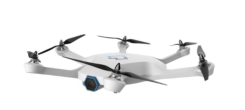 The CyPhy LVL 1 Drone bears six rotors rather than four, which the company says allows for steadier flight