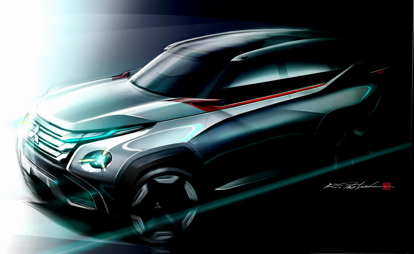 Teaser picture of the Concept GC-PHEV