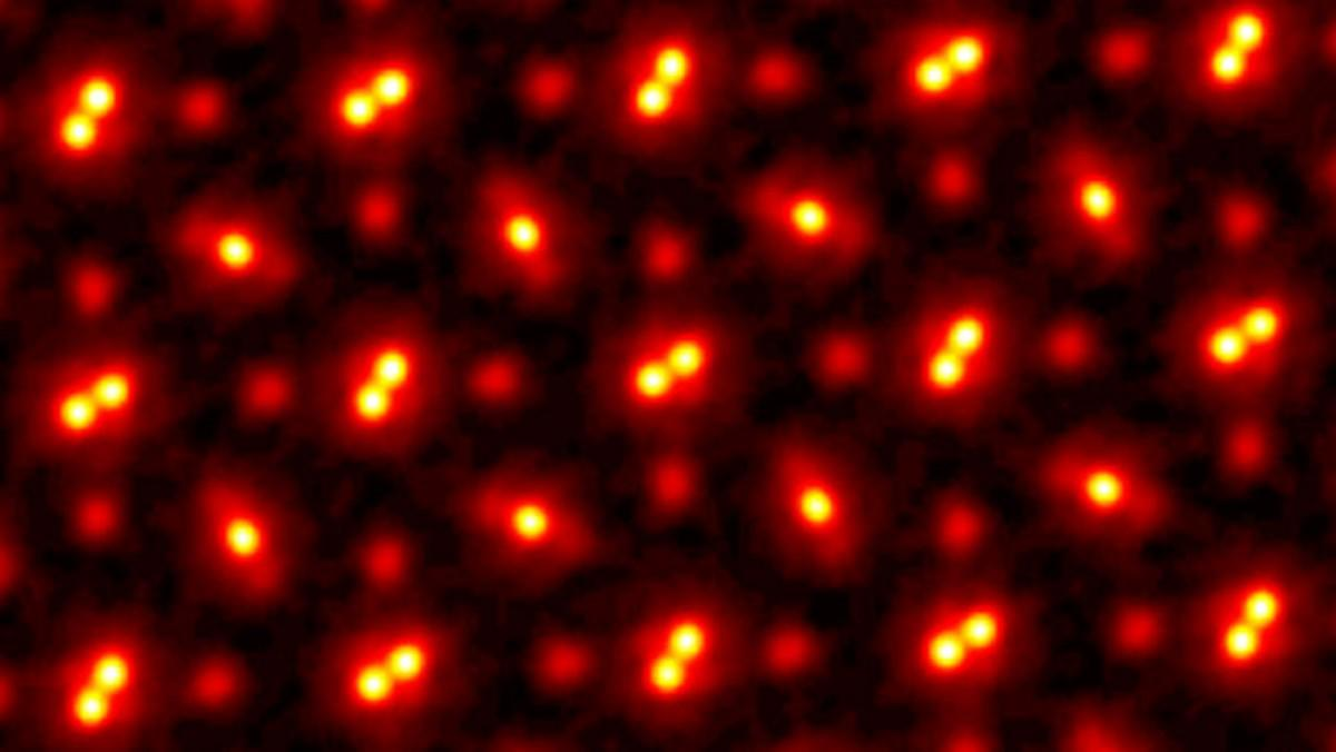 This electron ptychography image is the clearest ever taken of atoms