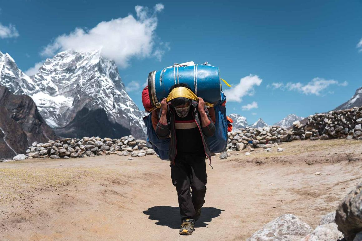 Finalist in 'The Traveler' category. This image was taken on the Everest Base Camp trail between the villages of Dingboche (4410m) and Lobuche (4910m) in Sagarmatha National Park, Himalayas, Nepal.