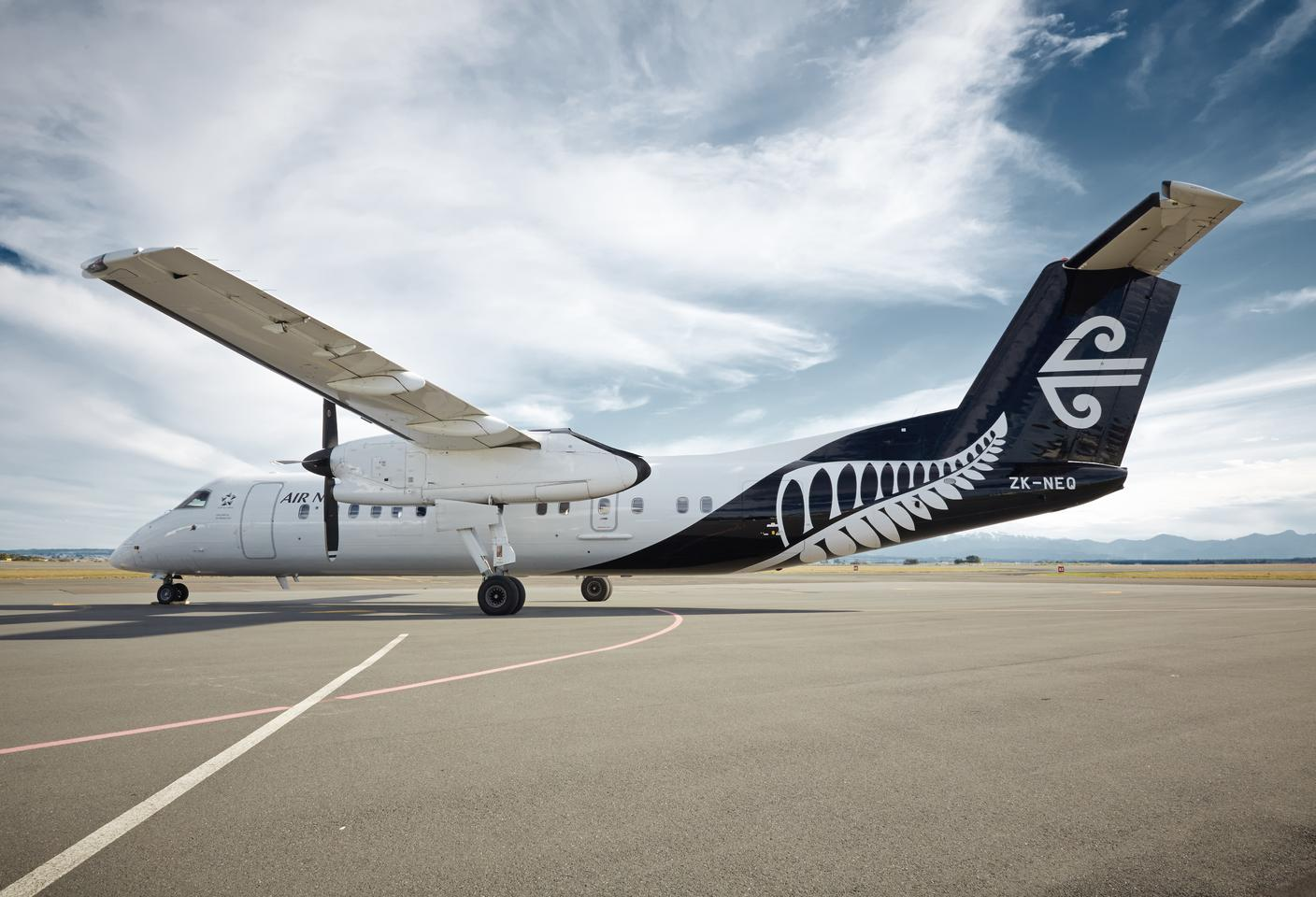 Air New Zealand is preparing to equip one of its Q300 passenger planes with hardware for environmental monitoring