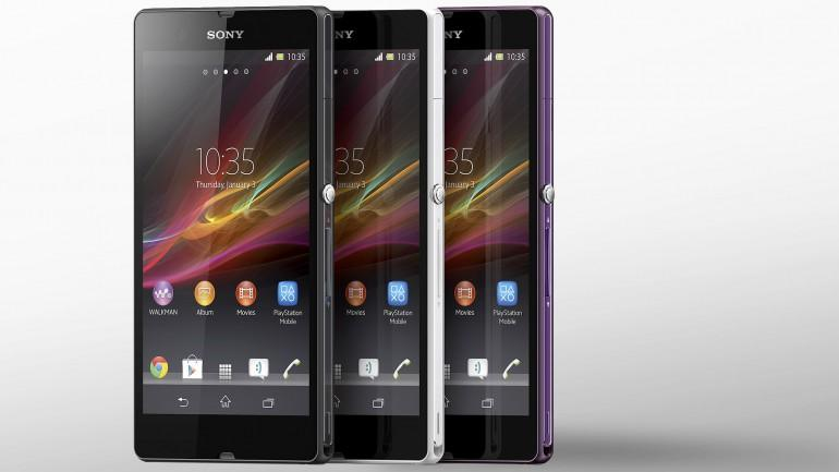 The Xperia Z was the first big smartphone introduction of 2013