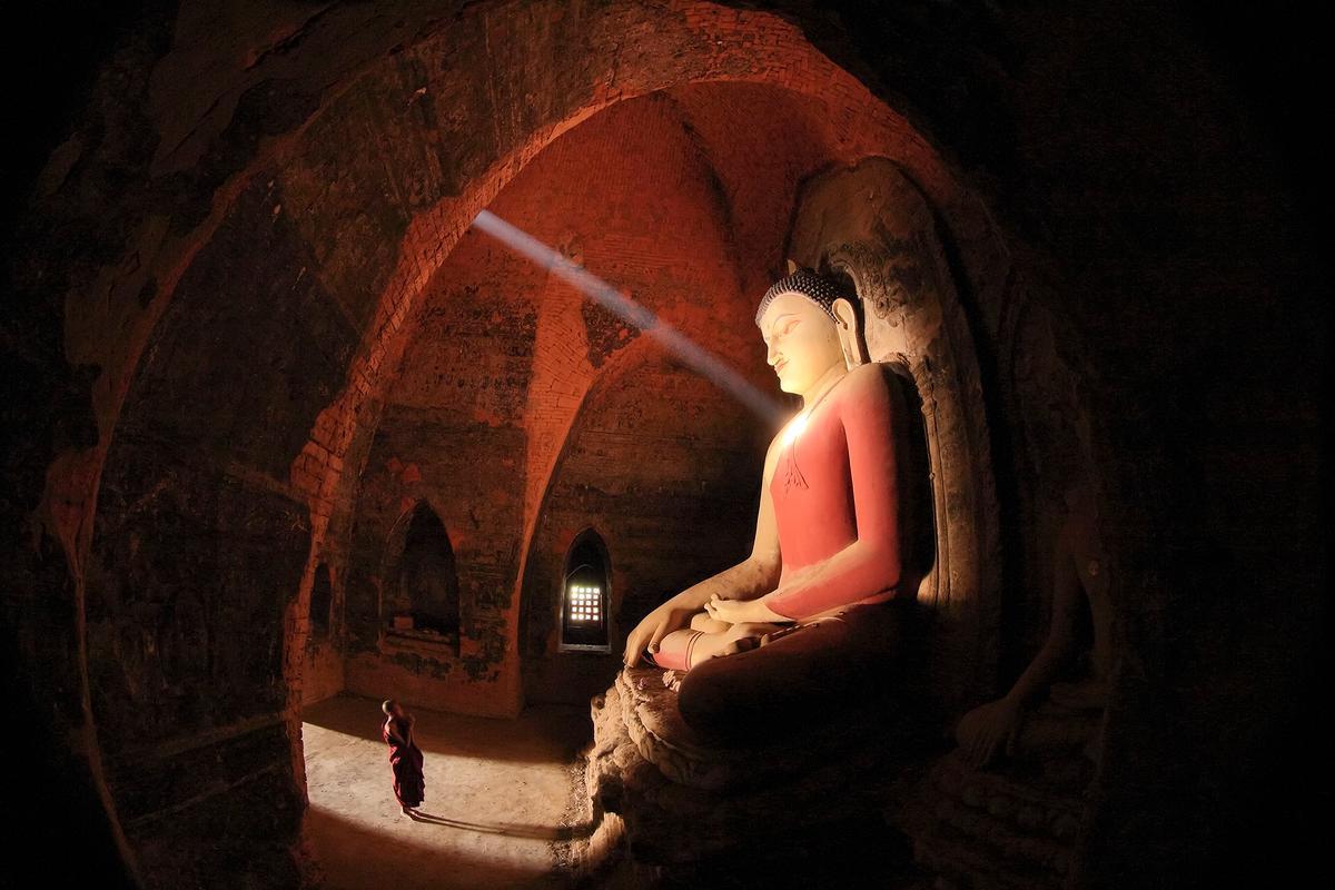 'Pahtotharmyar'. Pahtotharmyar Temple, Bagan, Myanmar