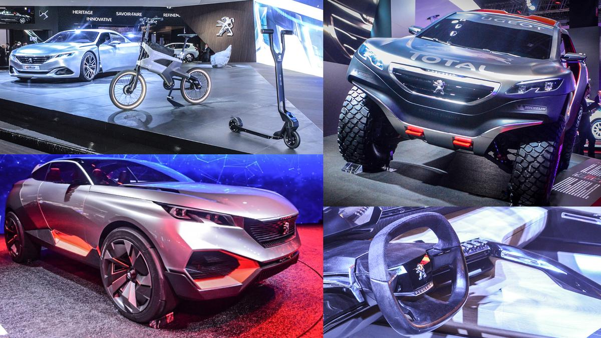 French automakers in Paris (Photo: C.C. Weiss/Gizmag)