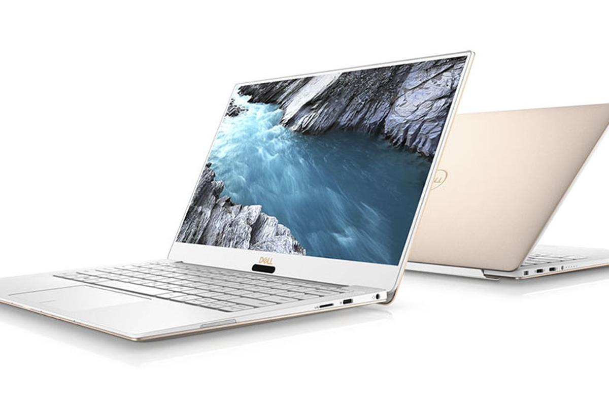 Dell's 2018 XPS 13 laptop makes use of 8th gen Quad Core brains, can be had with a FHD or UHD screen, and promises up to 20 hours of battery life per charge