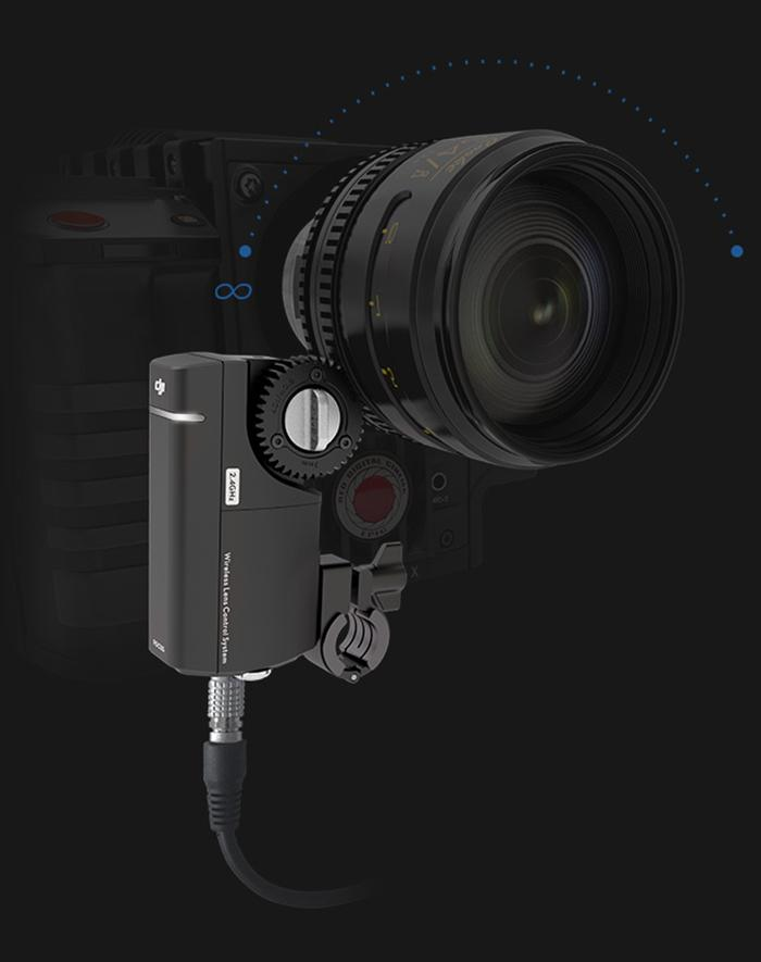 DJI's freshly announced Focus is a control system that allows remote adjustment of aperture and focus