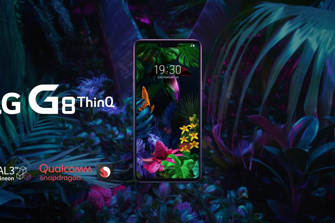 The LGG8ThinQ leads the charge for LG's 2019 flagships