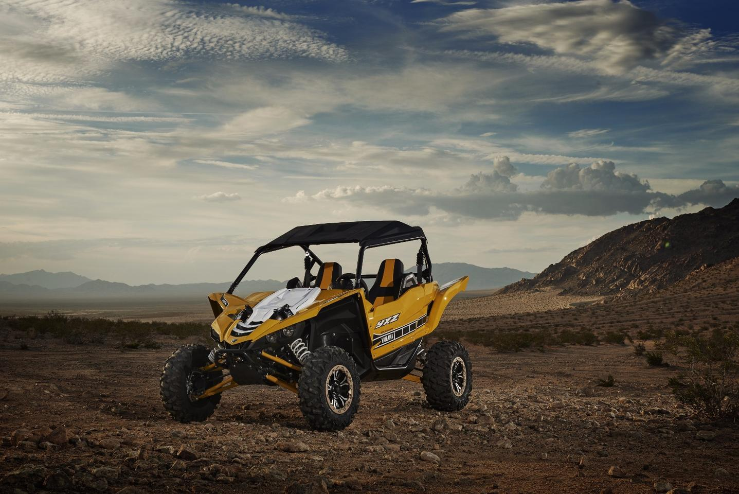 The Yamaha YXZ1000R aims to bring supersport performance to the Side-by-Side world