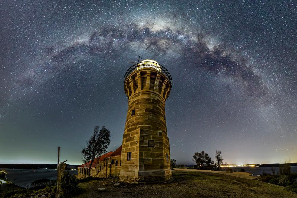 Barrenjoey Milky Way Arch, winner in the Wide Field category
