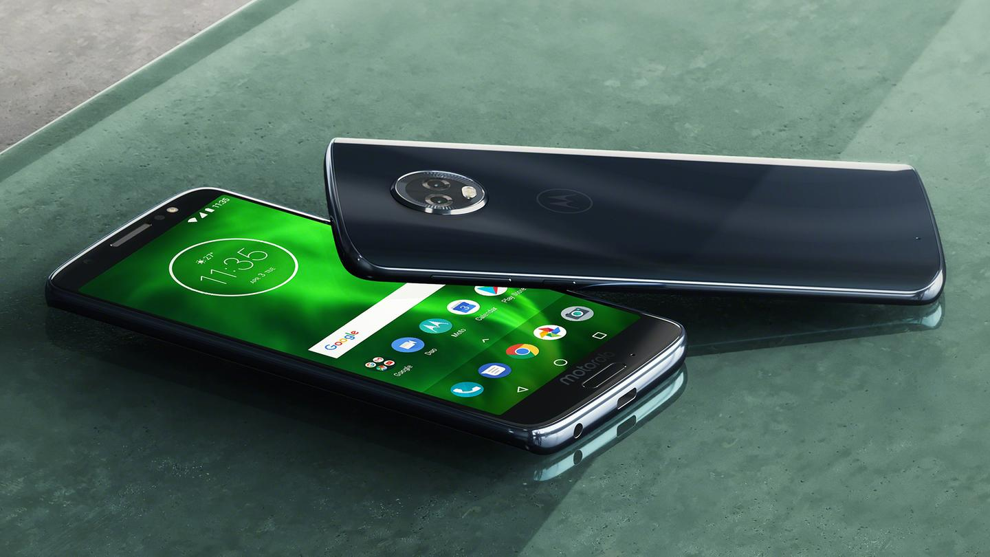 Motorola has unveiled a total of five new phones