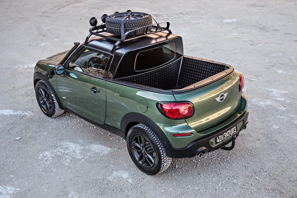 The MINI Paceman Adventure concept
