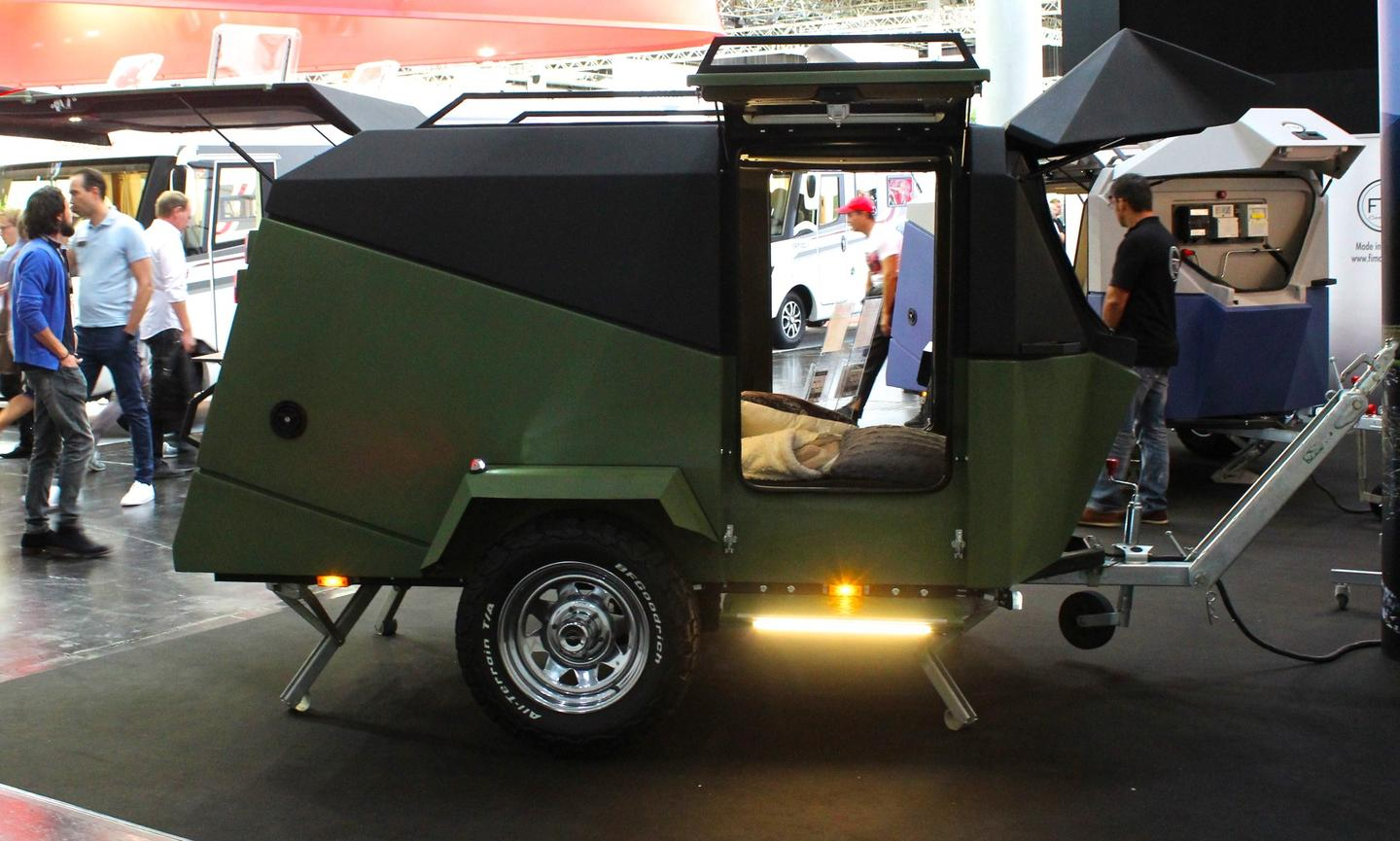 The rugged Migrator Off-Road on show at the 2018 Düsseldorf Caravan Salon
