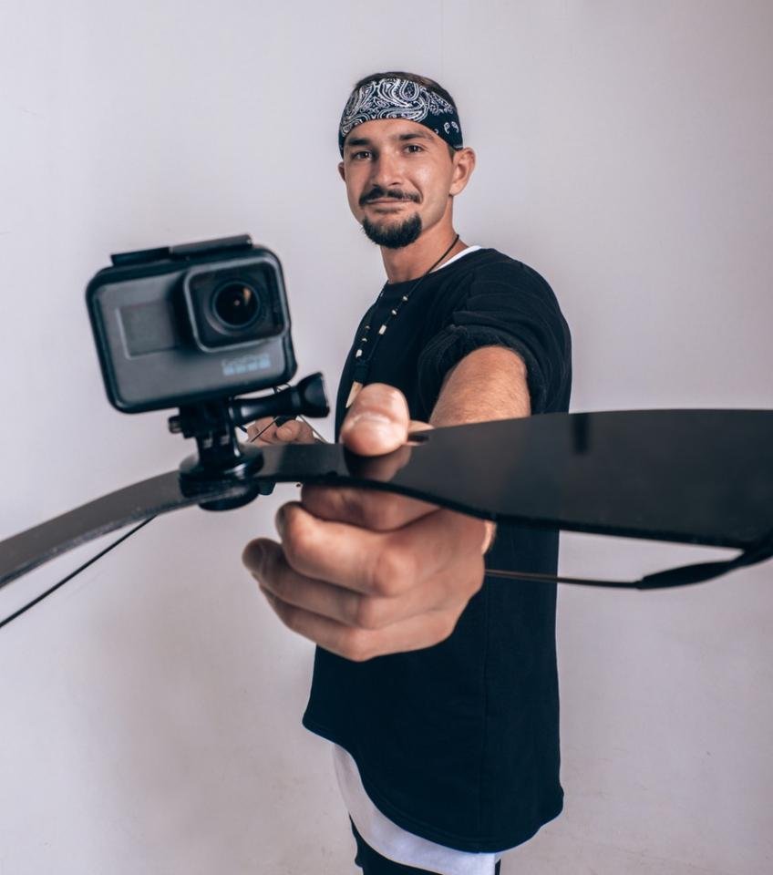 Inventor Artem Gavr, with the Wingo Pro