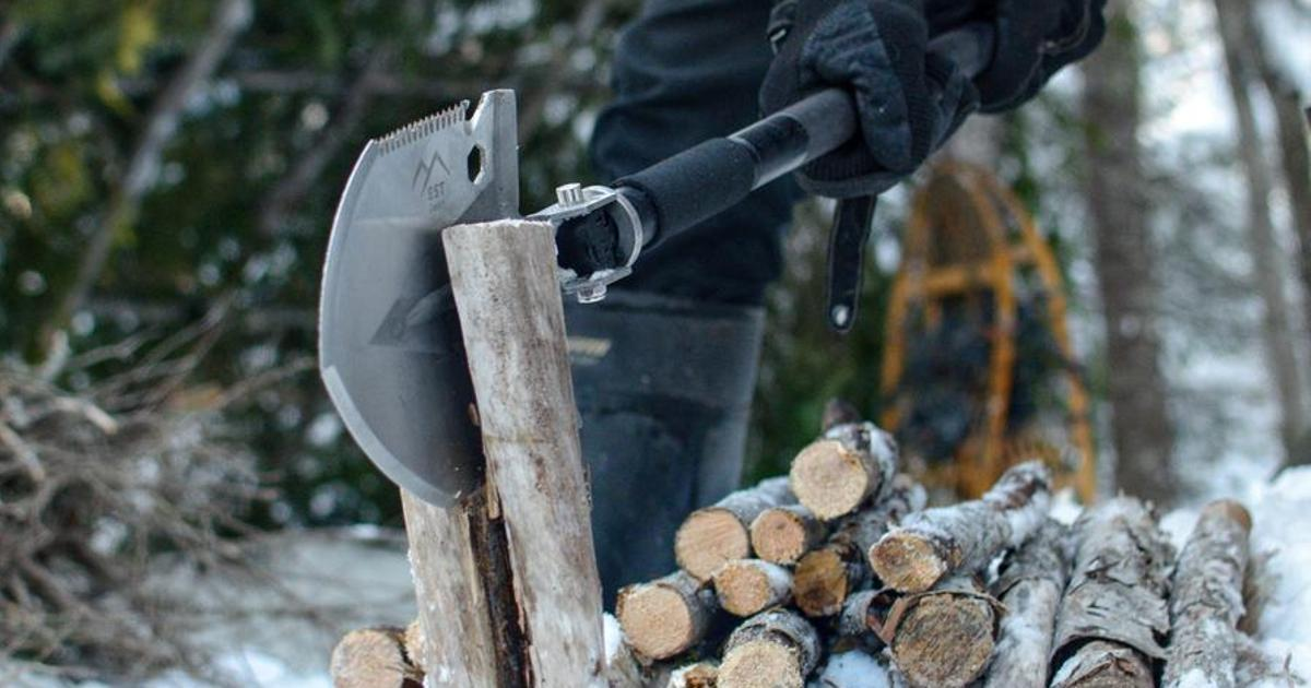 EST Shovel aims to be your ultimate adventure companion with 18 tools in one