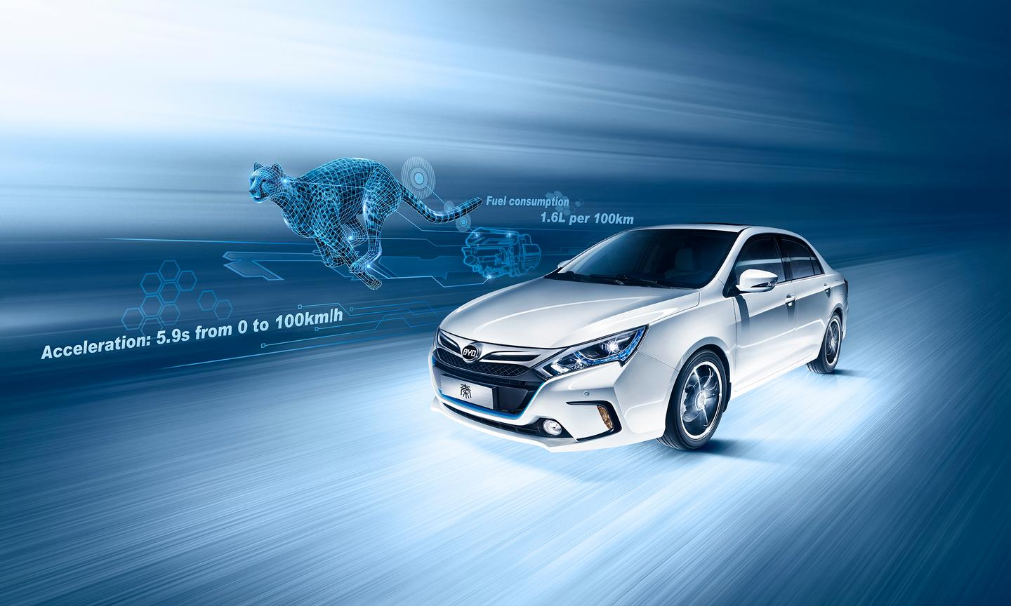 The online launch of the Qin saw all one hundred cars on offer sold in two seconds