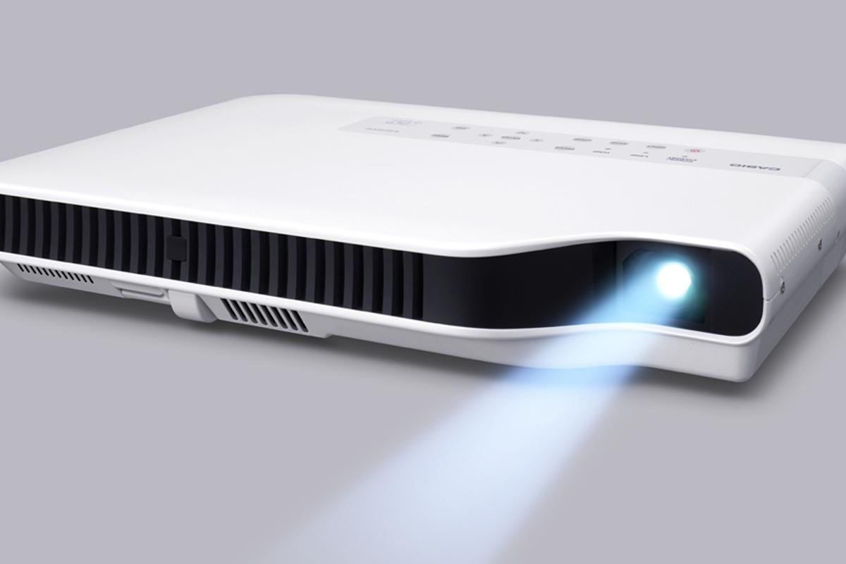 The XJ-A155 from Casio's new GREEN SLIM line of projectors