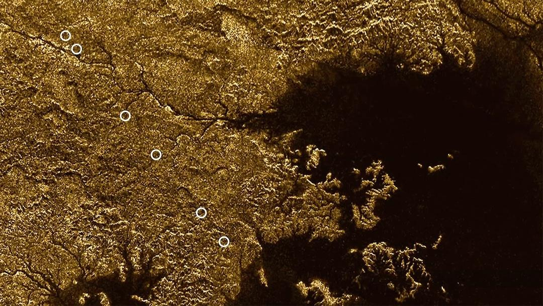 While the seas of the moon Titan are known to be filled with liquid methane, a new study has confirmed that a network of deep channels also contains the liquid