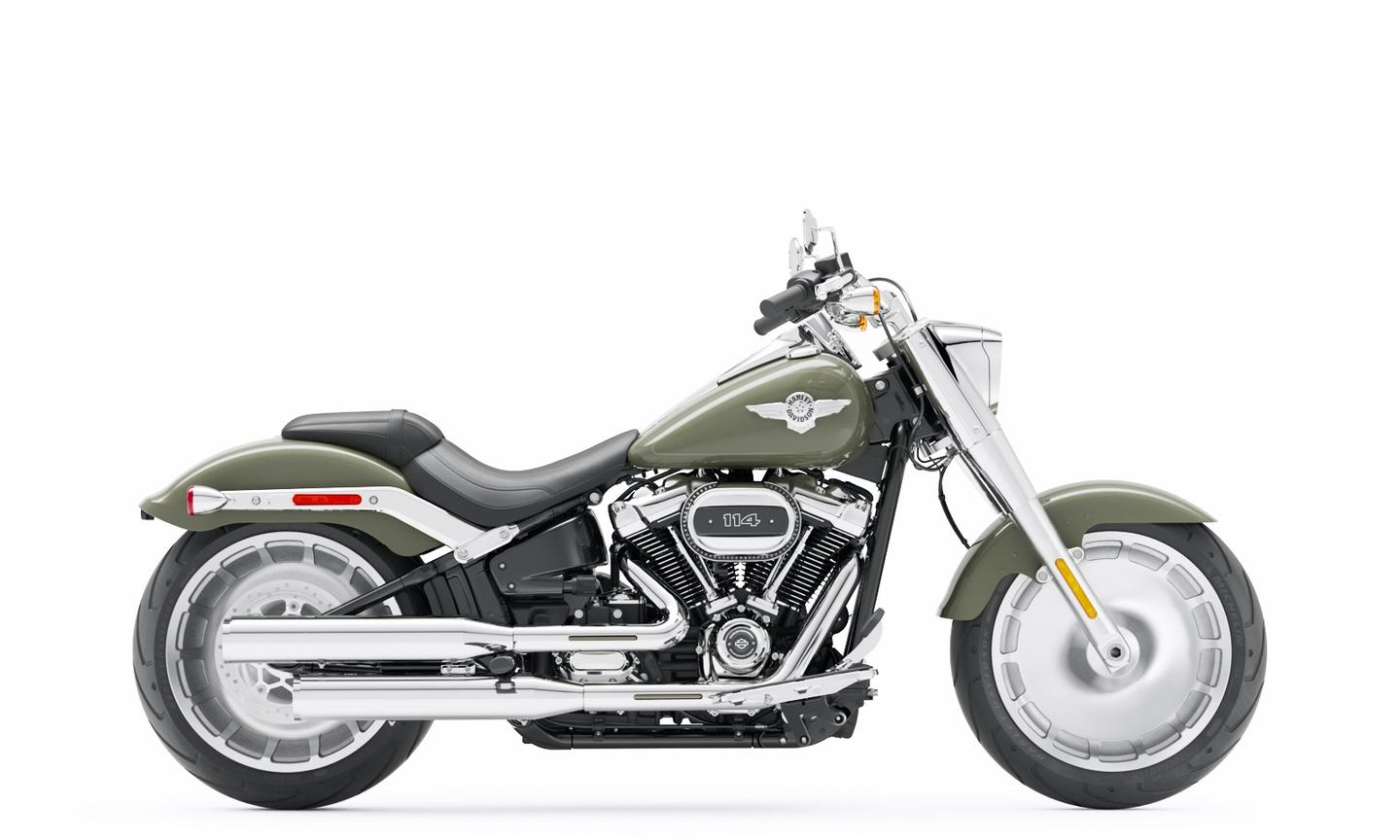 The 2021 Harley-Davidson Fat Boy gets refreshed styling with more chrome