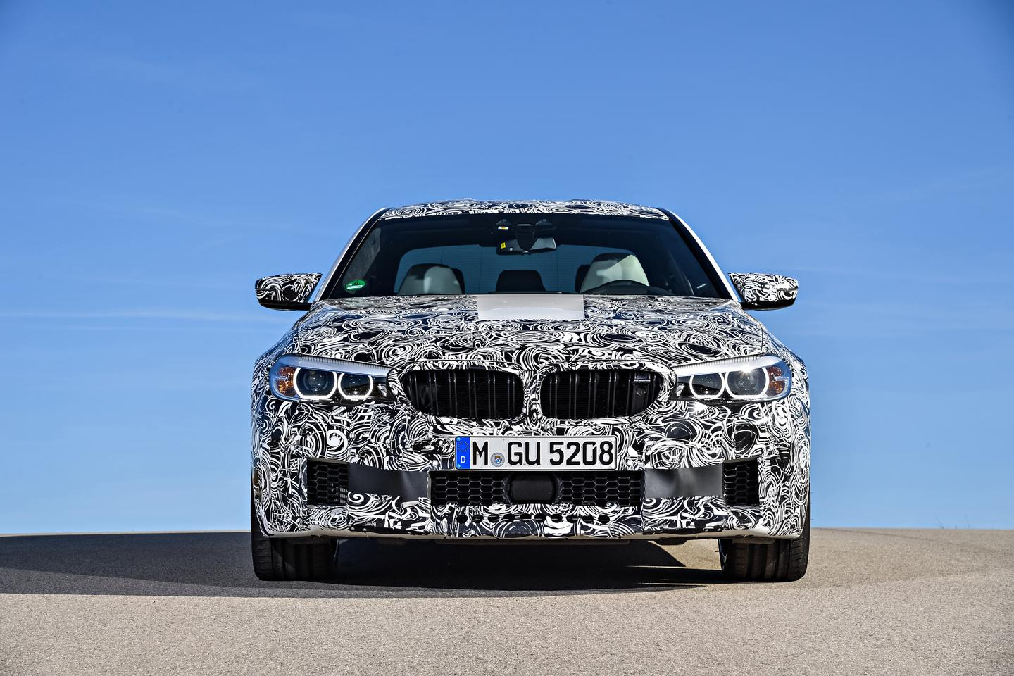 The new BMWM5 will be all-wheel drive