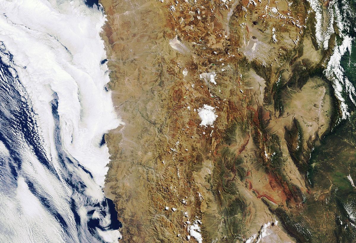 The Atacama desert (Image: ESA)