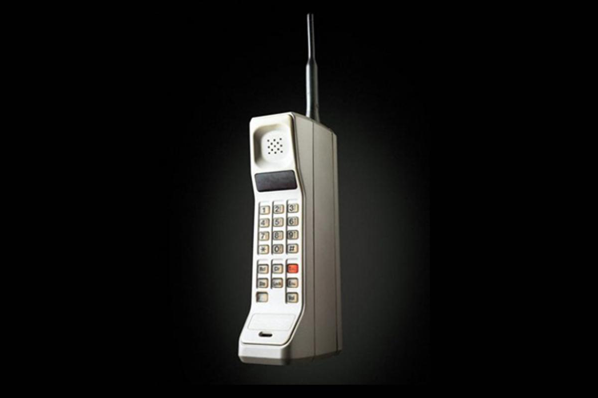 40 years ago the first cellular phone was invented by Martin Cooper of Motorola ... and it was almost the size of a shoe box