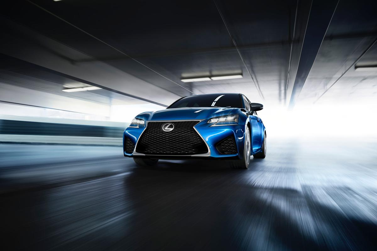 The Lexus GS F is powered by a naturally aspirated V8