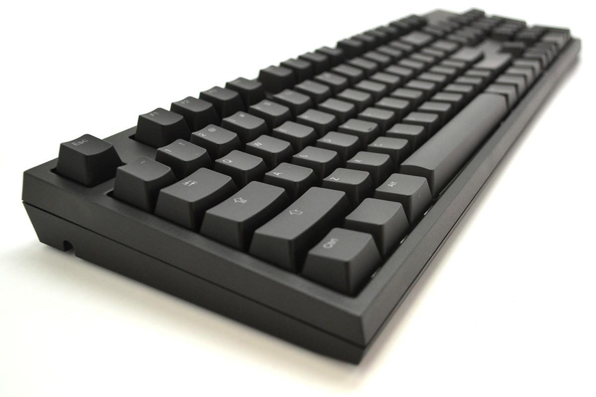 The CODE keyboard comes in both an 87 and 104-Key version