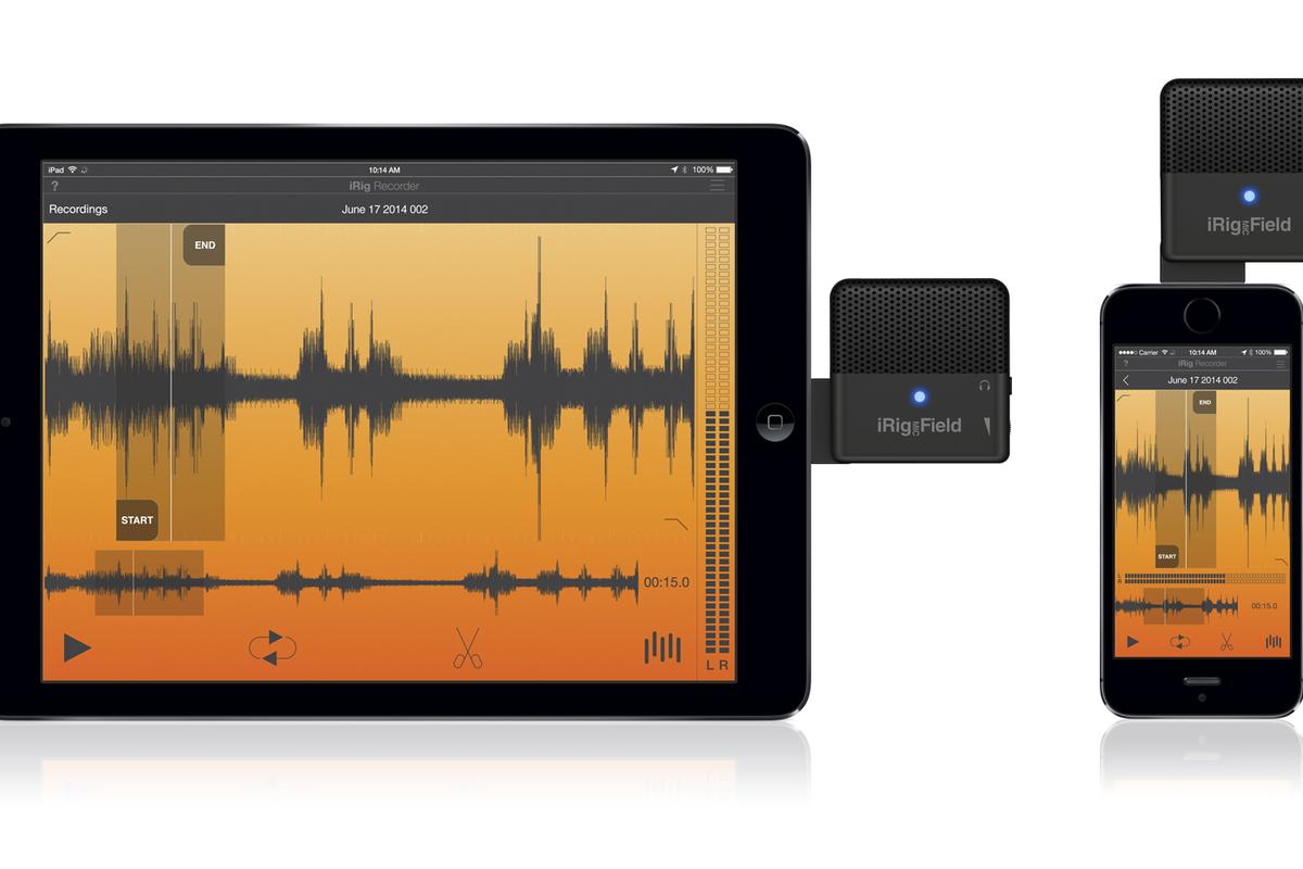 IK Multimedia unveiled its iRig Mic Field at this year's IFA