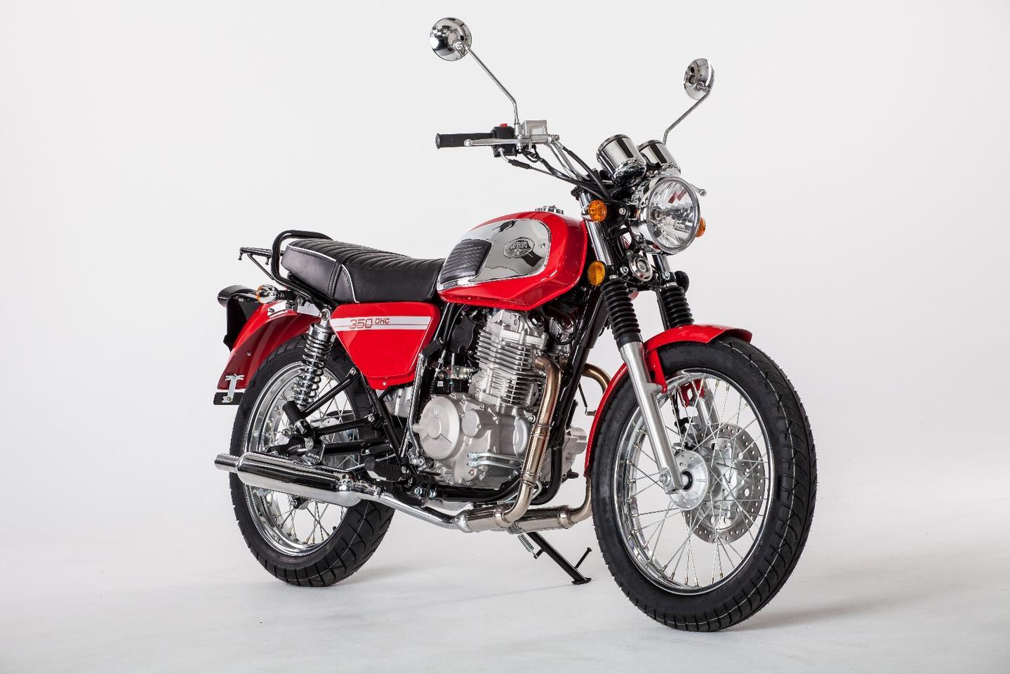 The 350 OHC ushers a legendary Jawa model family into a new era