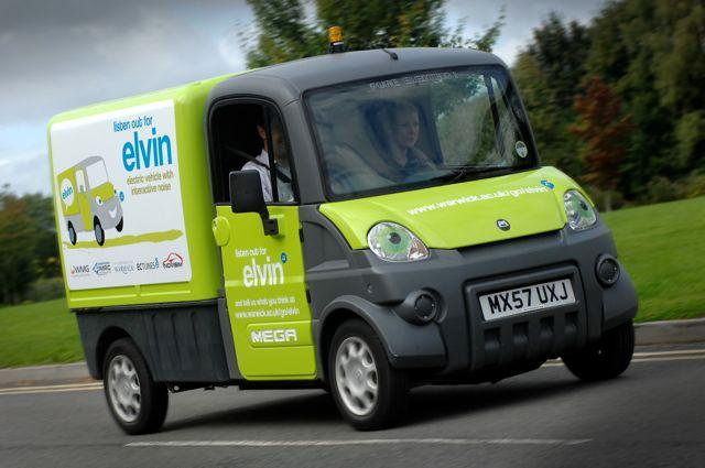 ELVIN the EV is equipped with a variety of driving noises