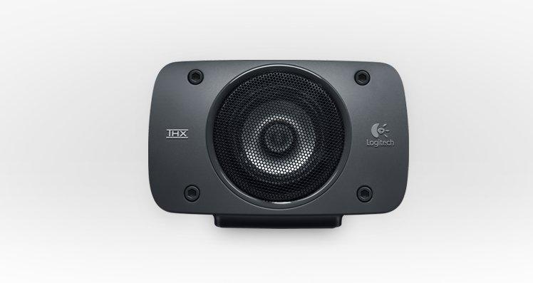 The Logitech Z906 TXH-Certified surround sound speaker system