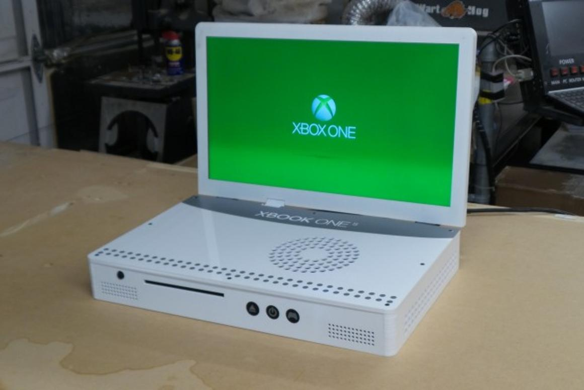 Just one week after release of the Xbox One S, modder Ed Zarick has already built his own portable version of the console