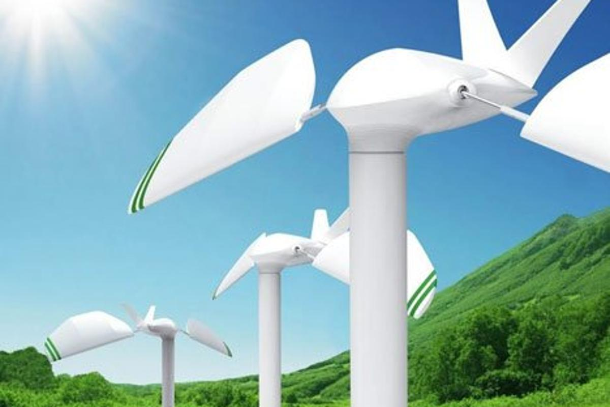 Green Wavelength's radical departure from conventional wind turbine design