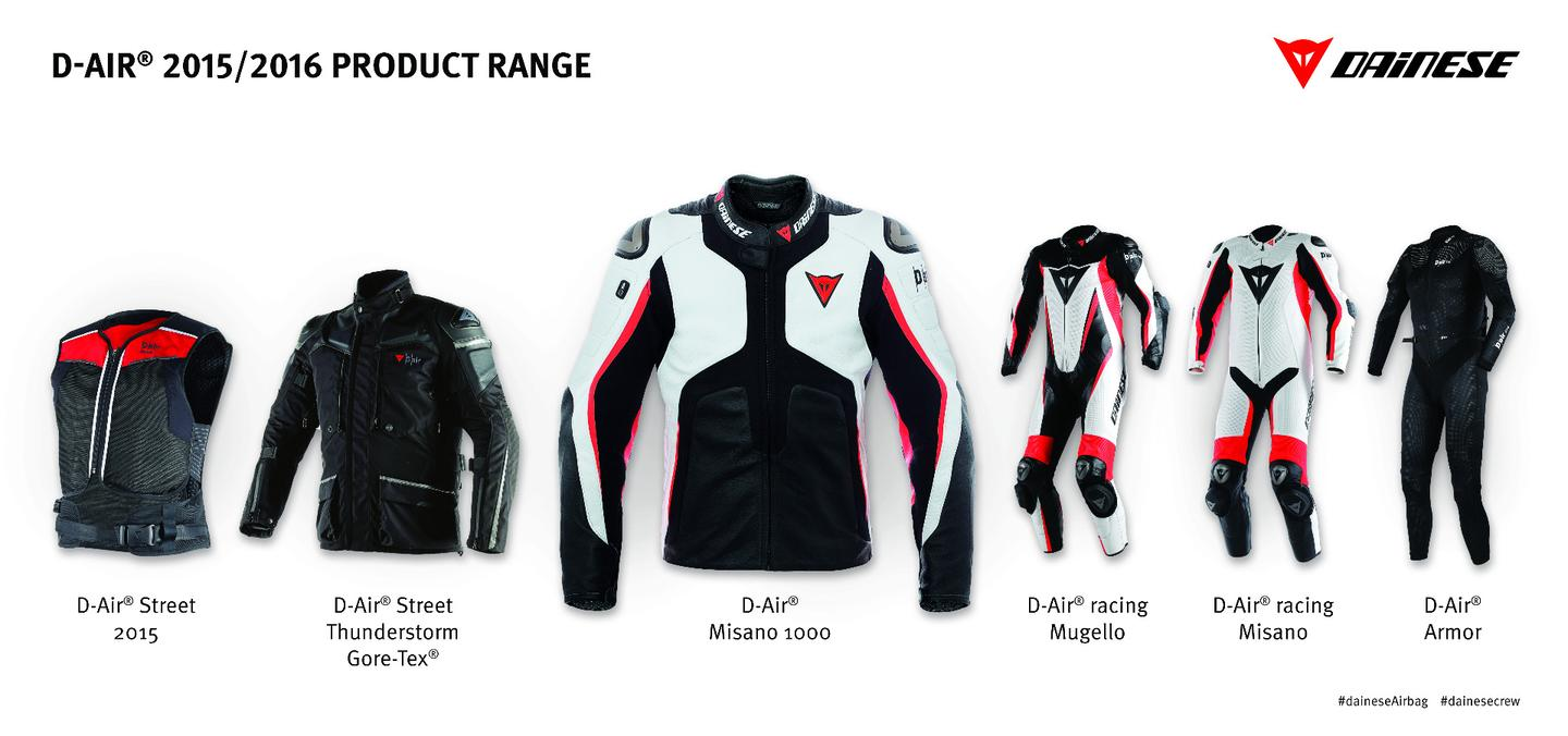 Completely independently operated, without the need of any sensor kit to be fitted to the motorcycle, the Misano 1000 contains the sensors, control electronics and a GPS unit in the back protector