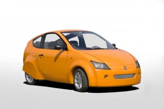 Axon's 100mpg carbon-composite hatchback.