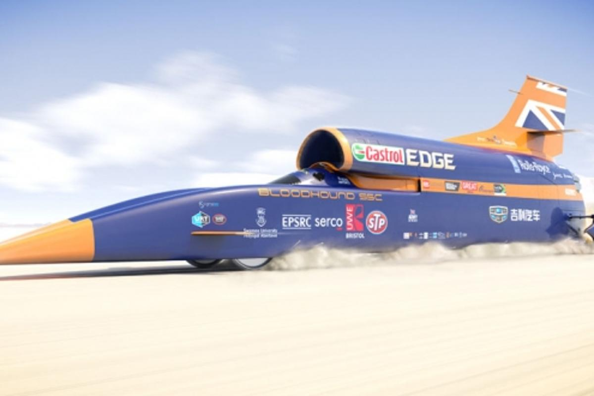 The goal of the project was to build a car that could reach 1,000 mph (1,600 km/h)